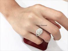 Round diamond 3.02 carat / H-Icolor/VVS
