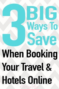 Save hundreds (maybe even thousands) by using these EASY tips before booking your next vacation or hotel stay.  - The Everyday Domestic