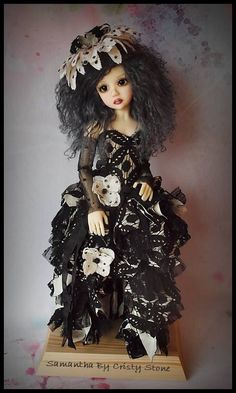 OOAK Handmade Outfit for MSD BJD by Kim Arnold of The Trinket Box