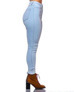 Light Blue Signature High Waist Jeans
