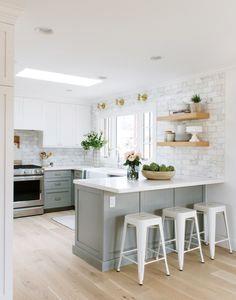 210 Kitchen Peninsula Ideas In 2021 Kitchen Layout Kitchen Peninsula Kitchen Design