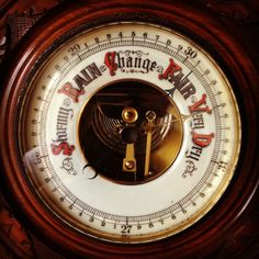 Victorian Barometer Heart Font, Weather Instruments, I Tattoo, Fonts, Clock, Victorian, Abstract, Hair, Home Decor