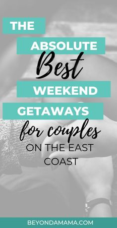 The absolute best weekend getaways for couples on the east coast! Best weekend getaways for parents, these are our favorite spots to visit, kid free. Click to see more, including things to do and places to stay at  15 of the best weekend getaways on the east coast. Weekend Getaways In The South, Weekend Getaways For Couples, Best Weekend Getaways, Couples Vacation, Weekend Vacations, Best East Coast Vacations, Best Vacation Destinations, Best Vacations, Vacation Ideas