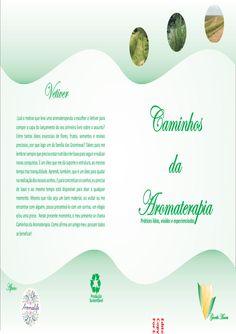 Livro caminhos da aromaterapia  livro de gorethi moura - caminhos da aroma terapia