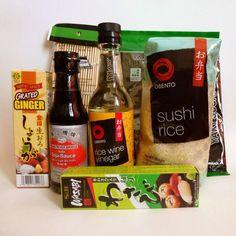 Sushi Starter Set 7 teilig + gratis Bambusmatte in Feinschmecker, Sonstige | eBay