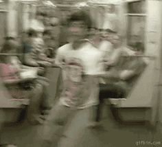 I hate it when there's no seats left | 15 Gifs That Are Way Awesomer In Reverse