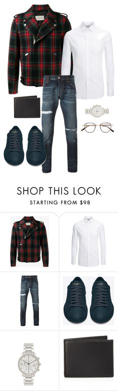 """""""Untitled #164"""" by stylesbylex on Polyvore featuring Gucci, Joseph, Philipp Plein, Yves Saint Laurent, Issey Miyake, The Men's Store, Garrett Leight, men's fashion and menswear"""