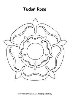 Henry VIII colouring page...a table where people can