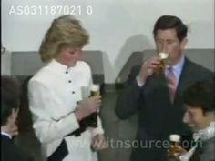 PRINCESS DIANA AT EUROPEAN SUMMIT 1981 RARE VIDEO - YouTube