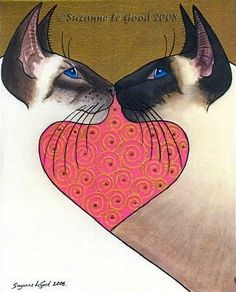 """""""Pink Heart"""" by Suzanne Le Good, 2008"""