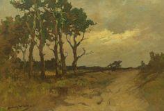 Online veilinghuis Catawiki: Antonie Keijzer, (1897-1961) - Drents landschap.