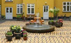 Un patio de vecinos en Copenhague de sorprendente diseño