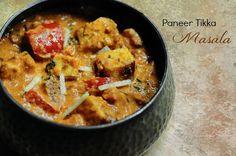 Paneer Tikka Masala | Restaurant Style Indian Paneer Recipe