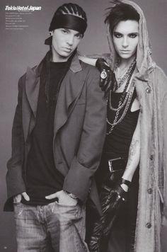 Bill and Tom Kaulitz