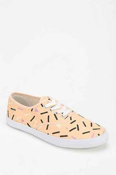 Printed Plimsoll Sneaker - Urban Outfitters
