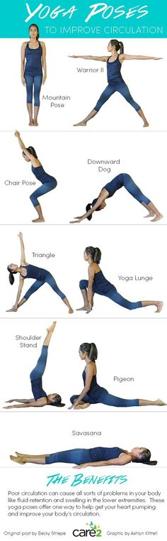Yoga Poses to Improve Circulation