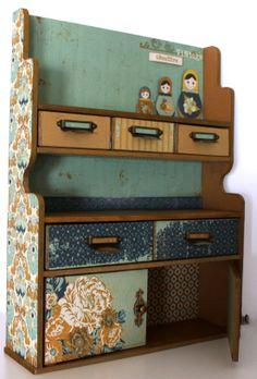 Kaisercraft -  Hidden Treasures - Storage Hut - Sandie Edwards