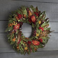 Fall Custom Wreath from Through the Country Door® | NW711360