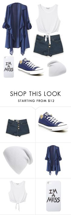 """Lucluc 9/30/2"" by ticci-toby ❤ liked on Polyvore featuring Converse, Phase 3, Monki, LAUREN MOSHI and lucluc"