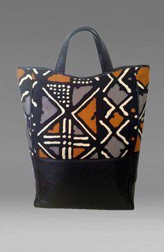 Dogon print bag