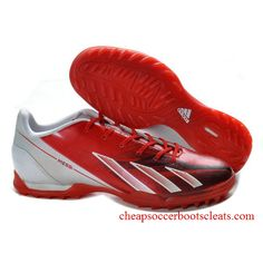 c1879be6d New 2013 Release Messi adidas Turf TF Red White Football Shoes For Wholesale