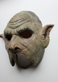 Orc Latex Mask by CreatureCollectibles on Etsy
