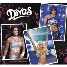 2013 WWE Divas Calendar 12x12 16 Month + Bonus Pack of Licensed Collectors WWE Elastic Bracelets!!!  Eye-catching, jaw-dropping, and ready to battle, WWE� Divas keep your fans on the edge of the seat with alluring images of brawler beauties. These girls have increased WWE� viewership and slammed their way into specialized DVDs, magazines, and apparel mar