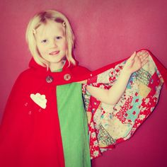 Red Riding Hood Cape- I want one for me :)