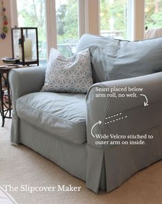 Slipcover Design: How to Handle Outer Arm Seams – The Slipcover Maker Furniture Fix, Reupholster Furniture, Furniture Slipcovers, Slipcovers For Chairs, Furniture Makeover, Furniture Design, Modern Furniture, Sofa Makeover, Coaster Furniture