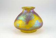 Antique Loetz Art Glass Vase - Austria c.1900