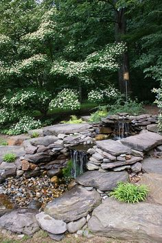 Garden water feature by KarlGercens.com, via Flickr