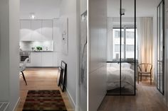 Home tour/ apartment/ nordic style/ design/ white/ inspiration Minimalist Interior, Modern Minimalist, Knock On Wood, Scandinavian Interior Design, Nordic Style, Interior Design Inspiration, Decoration, Dubai Uae, Wood Flooring