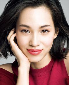 kiko    Kiko Mizuhara for Shiseido MAQuillAGE Spring/Summer 2015  More photos here