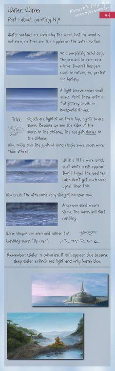 Tiny tips: Water: Waves by *Ranarh on deviantART