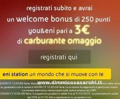 3 euro di carburante omaggio con You&Eni | Campioni omaggio gratuiti, Concorsi a premi, Buoni sconto - DimmiCosaCerchi.it