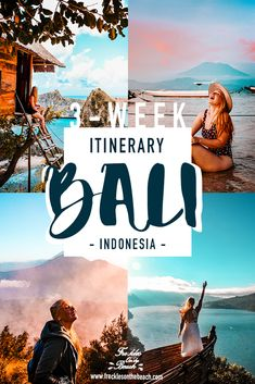 ULTIMATE BALI ITINERARY - 3 Week Route Guide to Bali, Indonesia (Photography and Aesthetic of Bali) - Discover the Best of Bali, Indonesia like paradise beaches, Ubud nature and adventure climb up moun - Bali Travel Guide, Asia Travel, Travel Guides, Travel Advice, Travel Tips, Beautiful Places To Travel, Cool Places To Visit, Best Of Bali, Ecuador