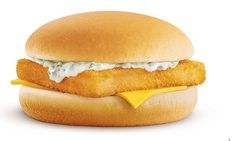 If you're treating yourself to a McDonald's you might be best to avoid the Filet-O-Fish, which could have been sitting under a heat lamp for hours - an employee claims (stock image) Fish Sandwich, Sandwich Recipes, Mcdonald's Filet O Fish, Mcdonalds Chicken, Fast Food Workers, Famous Fish, Sandwiches, Breakfast Recipes, Yummy Food
