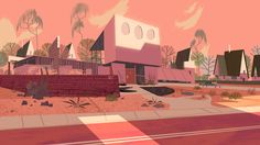 "Kevin Dart - The Utonium House - BGs from Powerpuff Girls Special ""Dance Pantsed."""