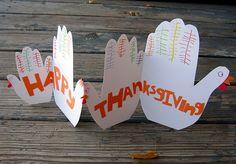 Turkey Hands Craft