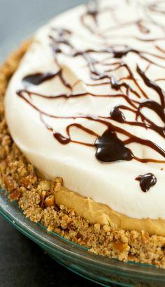 Chocolate-Peanut Butter Banana Cream Pie