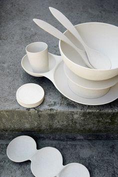 Super Bowl   salad bowl   coconut white #zuperzozial #biodegradable #capventure #dutchdesign #product #bowl #Superbowl