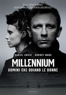 Millennium, Uomini che odiano le donne. D. Fincher, 2011. Remake del film svedese tratto dal romanzo di Stieg Larsson