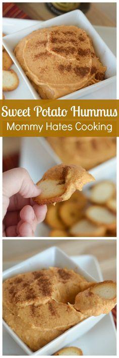 Sweet Potato Hummus with Sager Creek Vegetable Company {ad}