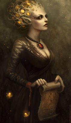 Fantasy Portraits by Sandra Duchiewicz