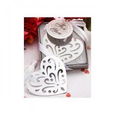 Elegante Punto de Libro Corazon Elegance en Cajita de Regalo #detallesparabodas #regalosparabodas #invitadosdeboda