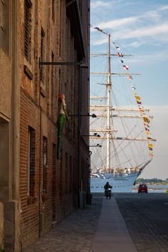 """Die Gorch Fock is a tall ship of the German Navy (Deutsche Marine). She is the second ship of that name as a sister ship of the Gorch Fock built in 1933. Both are named in honor of the German writer Johann Kinau who wrote under the pseudonym """"Gorch..."""