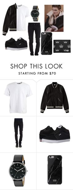 """""""Player"""" by leea40074 on Polyvore featuring Alexander Wang, Yves Saint Laurent, CYCLE, Vans, Skagen, Native Union, Dolce&Gabbana, Louis Vuitton, men's fashion and menswear"""