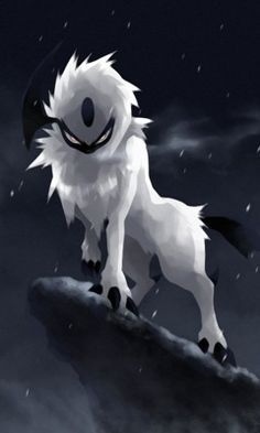For those who dont know, absol is my favorite (and strongest) pokemon on my team :3