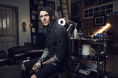 The very hot Mr Sketch of Tattoo Fixers fame