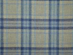 blue wool tartan material - Google Search